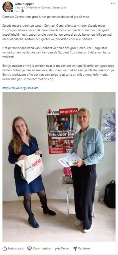 Sytske van Kampen - Connect Generations